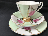Imperial China retro 50's tea trio